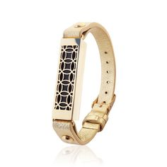 Bracelet HYDE 2 made for Fitbit Flex 2 Gold by fitjewelsSF