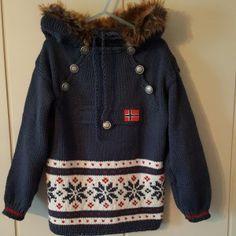 Epla er et nettsted for kjøp og salg av håndlagde og andre unike ting! Drops Lima, Crochet Baby, Knit Crochet, Canada Goose Jackets, Christmas Sweaters, Baby Kids, Diy And Crafts, Winter Jackets, Pullover