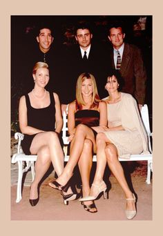 Somehow these six people were perfect together... and not just all together as a group either.  Each one of them was perfect with each individual.  They all just worked and because of it, Friends was one of the best shows ever on T.V.