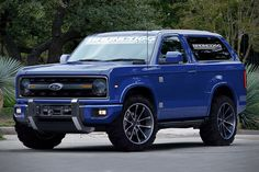 2020 Ford Bronco Concept. I'd own one if they decide to build it.
