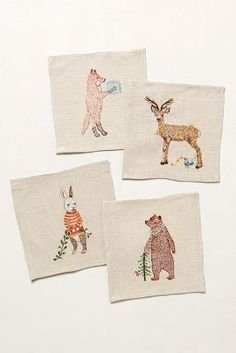 Arctic Animals Cocktail Napkins