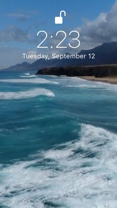Latest Ocean breeze live wallpaper Summer live wallpaper for your iPhone XS from Everpix Live Wallpapers Android, Android Wallpaper Blue, Cool Live Wallpapers, Beautiful Live Wallpaper, New Live Wallpaper, Colourful Wallpaper Iphone, Moving Wallpapers, Wallpaper Wallpapers, Beach Phone Wallpaper
