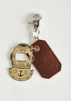 Diving to See You Keychain