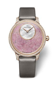 TimeZone : Industry News » Valentine's Day 2017 - Jaquet Droz Petite Heure Minute Astorite