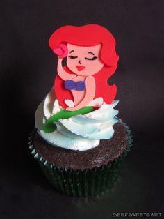 Geek Sweets - Cupcakes - Little MermaidCupcakes