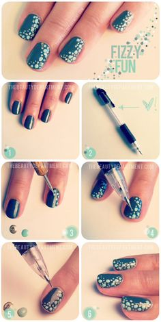 The Beauty Department: nails and dotting tool alternative.