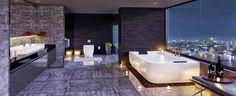 10 DREAM BATHROOMS THAT WILL LEAVE YOU BREATHLESS http://maisonvalentina.net/blog/dream-bathrooms-leave-breathless/