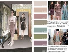 women's contemporary market fall winter f/w 2012 2013, color trends, house of style detail