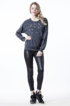 gblouse birds - CONCRETE blonde #flowear #fashion ✻ www.flowear.org