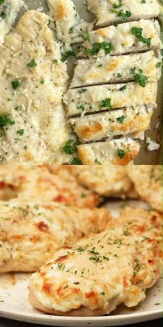 Baked Garlic Parmesan Chicken, Baked Chicken Breast, Chicken Breasts, Easy Chicken Dinner Recipes, Baked Salmon Recipes, Healthy Cooking, Cooking Recipes, Whole30 Recipes Lunch, Healthy Italian Recipes