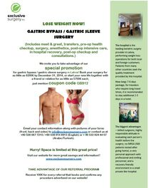 Lose Weight Now!  Gastric Bypass / Gastric Sleeve Surgery Promotion for Latvia.