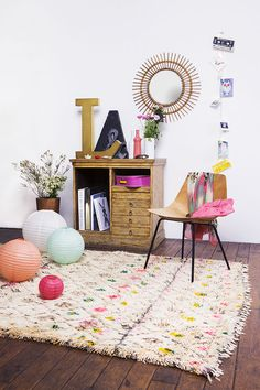 Shop éphémère de tapis berbères |MilK decoration