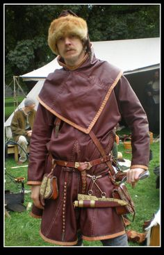 Leather tunic by *VendelRus on deviantART