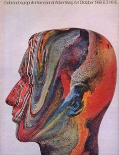 Gebrauchsgraphik Magazine cover, 1969