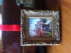 Framed Miniature print of Sonnenberg Gardens by MaryRileyFineArt