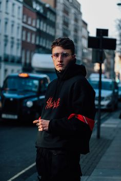 Our photographer Jonathan Daniel Pryce captures the strongest looks on the street at London Fashion Week Men's Fall/Winter 2017-2018.