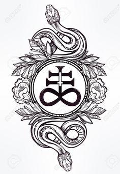 Afbeeldingsresultaat voor occult tattoo