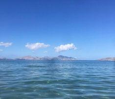 #october at #caraviabeach #autumn 🍂 seems so far away #kos #greece 📷@mirtl.13 Beach Pool, Beach Hotels, Far Away, Kos, Greece, October, Clouds, Autumn, Water