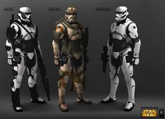 Storm Trooper redesign Full by mohzart.deviantart.com on @DeviantArt