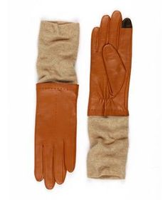 Mixed fabrics, rich sheepskin leather and a soft aloe lining make our Echo Touch Leather/Knit Glove our most luxurious style of the season. Tonal knit wrists and subtle accent stitching lend a demure quality to this touch-friendly style. Winter Accessories, Fashion Accessories, Travel Accessories, Wrist Warmers, Knitted Gloves, Geek Chic, Winter Wear, Cozy Winter, Classy And Fabulous