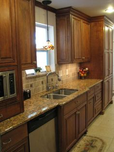 remodeling small galley kitchens | Small Galley Kitchens Design, Pictures, Remodel, Decor ... | For the ...