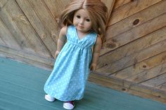 Hey, I found this really awesome Etsy listing at https://www.etsy.com/listing/198745795/18-inch-doll-clothes-blue-polka-dots