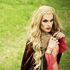 Katya serving some Cersei Lannister realness