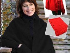 Fiyat:16,90 tl Giyilebilir Polar Cepli Düğmeli Şal - Siyah