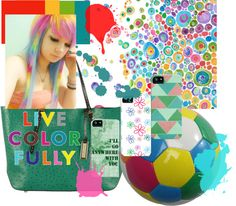 """""""Live Color Fully"""" by catherine-holcombe on Polyvore"""