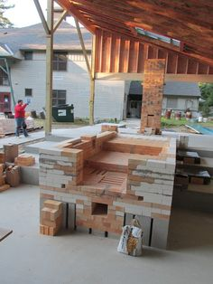New Hampshire Institute of Art anagama under construction August 2014. John Baymore, instructor/builder.