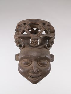 Kom culture Mask From the Robert and Nancy Nooter Collection, Adolph D. and Wilkins C. Williams Fund
