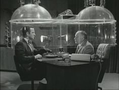 """Cone-of-Silence froml """"Get Smart"""" Eveyone needs one of these!"""
