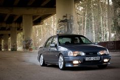 Ford Sierra Cosworth by rihardsbaumanis, via Flickr