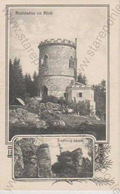 - Rozhledna na Kleti, Žebříkový káme / Josefsturm am Schöninger, Böhmerwald