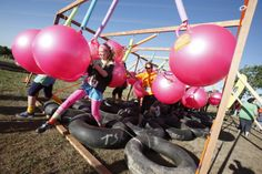 13 Crazy Obstacle Races and Mud Runs: Shape Diva Dash