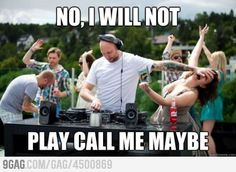 No call me maybe