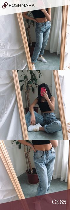 brandy melville jeans very good condition Brandy Melville Pants Wide Leg Brandy Melville Jeans, Wide Leg, Pants For Women, Skinny Jeans, Closet, Fashion, Moda, Armoire, Fashion Styles