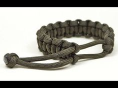 [TUTO] Bracelet de Survie en Paracorde N°1 - COBRA - YouTube