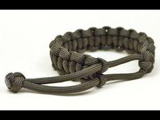 Make a Mad Max Style Paracord Survival Bracelet THE ORIGINAL - Boredparacord.com - YouTube
