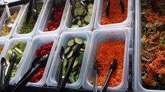 Fresh veggies at Beeman.
