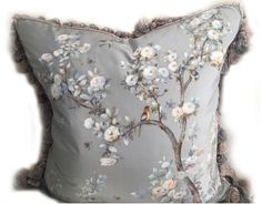 Chinoiserie Handpainted Pillows