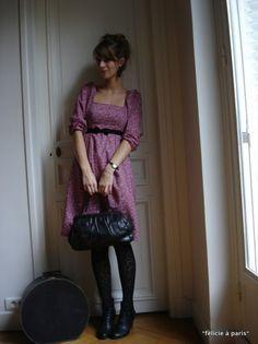 Robe Danielle, patron gratuit Burda Plus