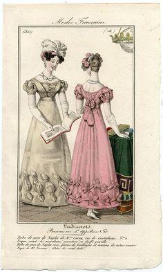 plate 14 - Modes Francaises -- L'Indescret