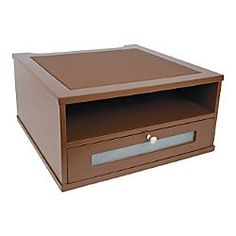 Victor Monitor Riser 6 12 H x 13 W x 13 D Mocha Brown by Office Depot & OfficeMax