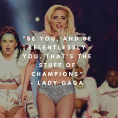 "Lady Gaga said it best when some people started #bodyshaming her after her stunning Super Bowl performance. Just as she said, ""Be you, and be relentlessly you. That's the stuff of champions."" We love your #bodypositive message @ladygaga!  . . . #wellnessinsider #bodyimage #bodyconfidence #positivemindset #mindbodysoul #thewellnessinsider #ladygaga #superbowl #healthandwellness #bopo"