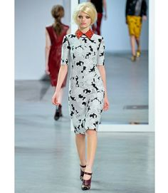 Derek Lam FL '12 via Marie Claire  love the collar