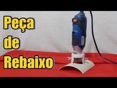 PVC PASSO A PASSO: Aprenda fazer peça de rebaixo para Luminária de PV...