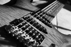 Black And White Electric Guitar Guitar Photography, Music Guitar, Black And White Pictures, Music Instruments, Electric, Pretty, Top, Musical Instruments, Crop Shirt