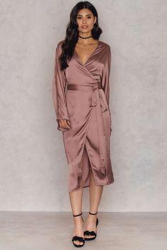 Kimono Wrapped Dress