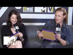 Video: 'Outlander' stars Caitriona Balfe & Sam Heughan play MTV's Know Your Co-Star at Comic-Con 2015 | TV News & Views
